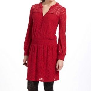 Anthropologie Dresses - Anthropologie Leifnotes Field Day Lace Dress XS
